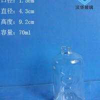 徐州生产70ml出口玻璃香水瓶价格