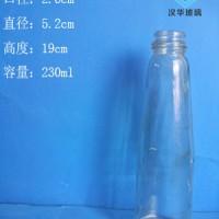 徐州生产230ml锥形麻油玻璃瓶香油玻璃瓶批发