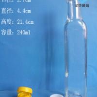 厂家直销250ml方形橄榄油玻璃瓶,麻油玻璃瓶批发