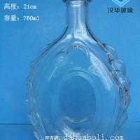 750ml洋酒玻璃瓶生产商威士忌酒瓶批发