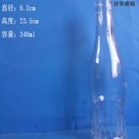 厂家直销340ml果汁饮料玻璃瓶,酸奶玻璃瓶批发