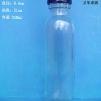 徐州生产340ml果汁玻璃瓶,饮料玻璃瓶生产厂家