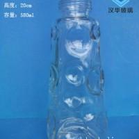 徐州580ml出口玻璃饮鸟器瓶生产厂家