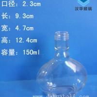 热销150ml玻璃小酒瓶,三两装白酒玻璃瓶批发
