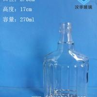 徐州生产250ml玻璃酒瓶工艺白酒玻璃瓶批发