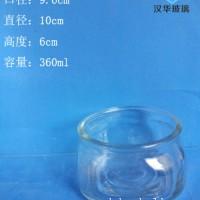 批发360ml工艺玻璃烛台蜡烛玻璃杯批发