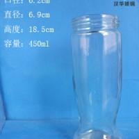 厂家直销450ml果汁玻璃瓶饮料玻璃瓶生产厂家