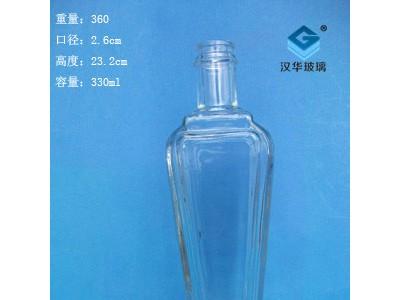 330ml玻璃香油瓶批发厂家直销麻油玻璃瓶瓶价格