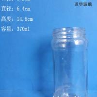 370ml麻辣酱玻璃瓶生产商,徐州玻璃酱菜瓶批发