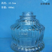 厂家直销680ml出口酒精灯玻璃瓶批发