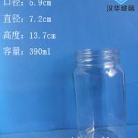 热销380ml蜂蜜玻璃瓶,玻璃果酱瓶生产厂家