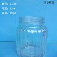 批发400ml辣椒酱玻璃瓶,厂家直销玻璃酱菜瓶价格
