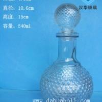 徐州生产500ml工艺玻璃酒瓶,一斤装保健酒玻璃瓶批发