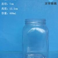 徐州生产400ml方形蜂蜜玻璃瓶批发价格