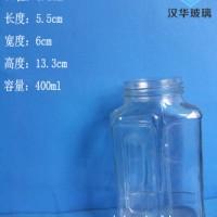 热销400ml蜂蜜玻璃瓶食品玻璃瓶生产商