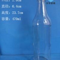 徐州生产450ml酱油醋玻璃瓶批发价格