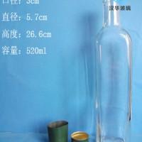 徐州生产500ml方形橄榄油玻璃瓶,一斤装玻璃麻油瓶
