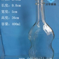 徐州生产400ml玻璃白酒瓶,厂家直销高档玻璃酒瓶