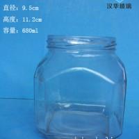 徐州生产680ml辣椒酱玻璃瓶,果酱玻璃瓶生产商