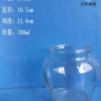 徐州生产700ml大肚罐头玻璃瓶批发价格
