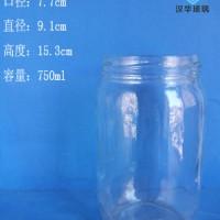 750ml罐头玻璃瓶生产厂家