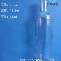 徐州生产500ml玻璃白酒瓶,高档玻璃酒瓶生产厂家