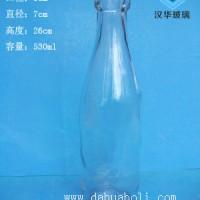 徐州生产500ml卡扣玻璃酒瓶,酵素玻璃瓶生产厂家