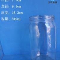 800ml大容量罐头玻璃瓶生产厂家
