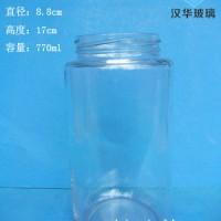 厂家直销770ml圆形蜂蜜玻璃瓶批发价格