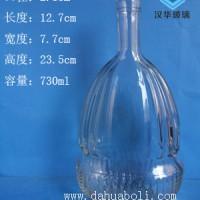 徐州生产700ml玻璃酒瓶,工艺玻璃酒瓶生产厂家