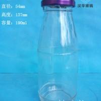 热销190ml果汁玻璃瓶,徐州饮料玻璃瓶生产厂家