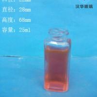 徐州生产25ml长方形玻璃瓶
