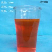 徐州生产120ml玻璃口杯酒瓶,厂家直销玻璃酒杯