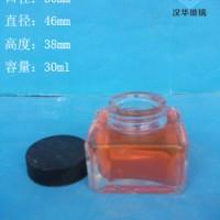 徐州生产30ml方形墨水玻璃瓶