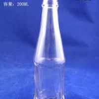 200ml玻璃汽水瓶生产厂家,果汁玻璃瓶批发价格