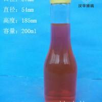 徐州生产200ml玻璃饮料瓶价格,订制果汁玻璃瓶