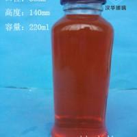 220ml玻璃果汁饮料瓶生产厂家