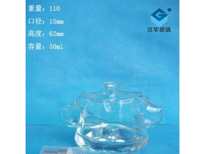 厂家直销50ml衣服工艺香水玻璃瓶批发价格