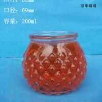 徐州生产200ml玻璃烛台价格,工艺玻璃烛台批发