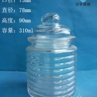 厂家直销300ml出口玻璃茶叶罐,徐州玻璃密封罐批发价格