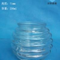徐州生产230ml玻璃蜡烛杯,工艺玻璃烛台生产厂家