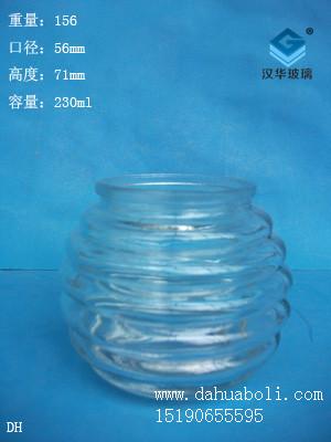 230ml玻璃烛台